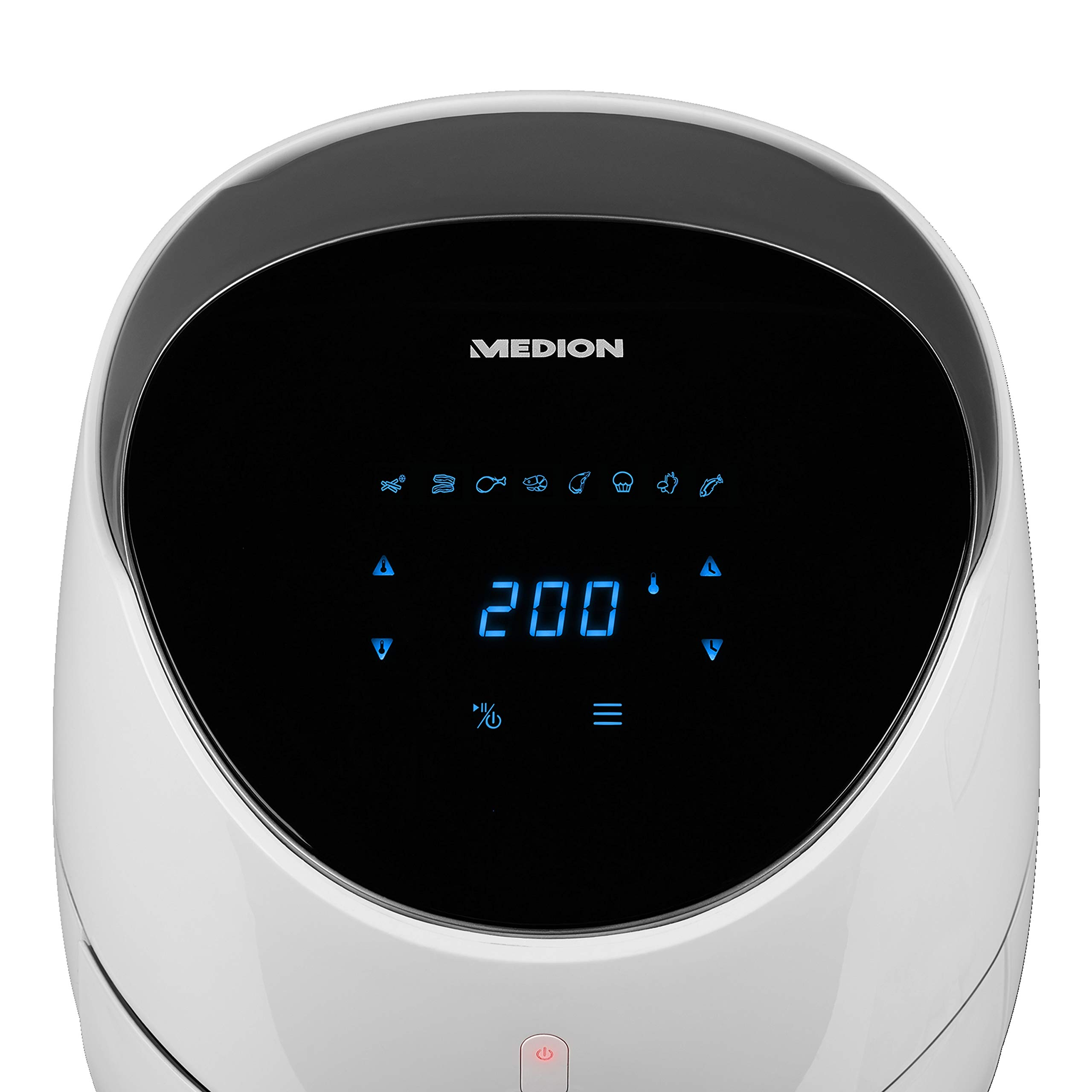 MEDION MD 18290 - Freidora (Freidora de aire caliente, 4,5 L, 1,8 ...