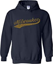 UGP Campus Apparel Hometown Baseball Script - Hometown Pride, Pitcher Hoodie