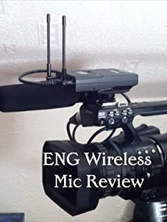 Wireless Microphone for Electronic News Gathering ENG