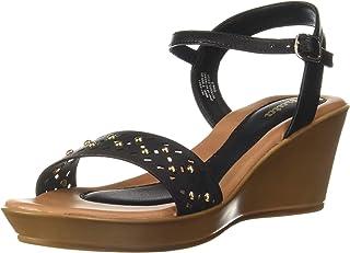 BATA Women's Laser Stud Sandal Fashion
