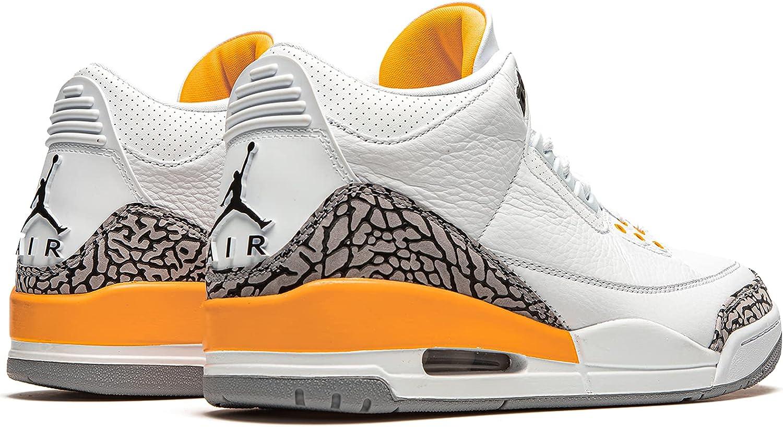 Jordan Women's Shoes Nike Air 3 Retro Laser Orange CK9246-108
