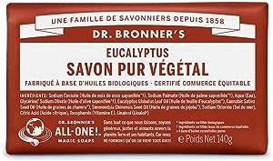 DR  BRONNER S Savon Solide Eucalyptus 140g...
