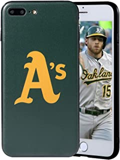 "Sportula MLB Phone Case Matching 2 Premium Screen Protectors Extra Value Set - for iPhone 7 Plus/iPhone 8 Plus (5.5"") (Oak..."
