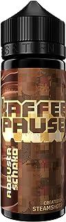 Kaffeepause Aroma Robusta Schokolade, Shake-and-Vape zum Mischen mit Base Liquid für e-Zigarette, 0.0 mg Nikotin, 20 ml