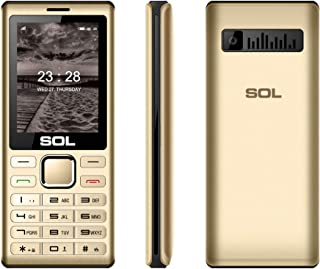 SOL ARGUS B2410 4 SIM Feature phone, 2000 mAh Big Battery With 2 years Replacement Warranty