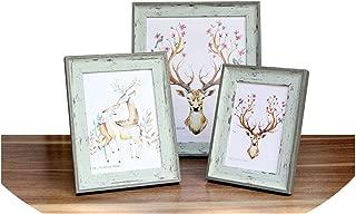 Vintage Photo Frame Painting Frame Home Art Decor Gifts Modern Imitation Wood Color Photo Frame for Pictures 5 12