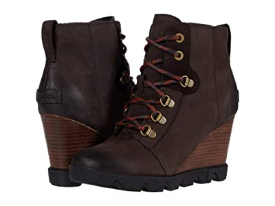 SOREL Joan Uptown Lace (Blackened Brown) Women