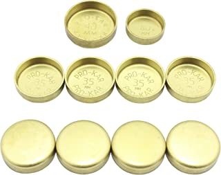 L4 DOHC DNJ FPS916 Brass Freeze Plug Set for 2000-2006 Toyota 2ZZGENote Brass Freeze Plugs Pontiac 16V 1.8L