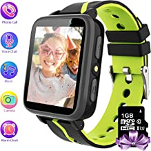 MeritSoar Kids Smartwatch with 1GB Memory Card for MP3 Music Player Watch and FM Radio with 1.55