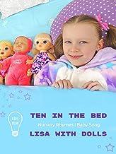 Lisa With Dolls in Kids Vlog Plus Ten In The Bed Nursery Rhymes Baby Song