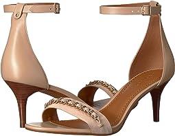 Chain Mid Heel Sandal