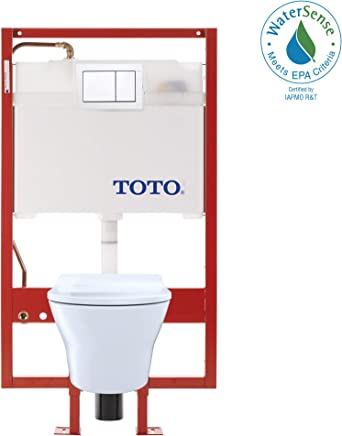 Wondrous Toto Cwt4370247Mfg 401 Mh Connect Wall Hung Toilet And Dailytribune Chair Design For Home Dailytribuneorg