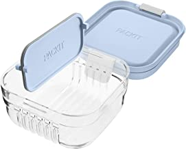 Mod PKT-MS-ICY Snack Bento Container, Icy Blue