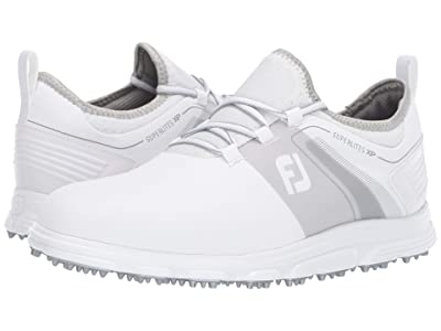 FootJoy Superlites XP Spikeless (White/Grey) Men