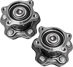 TUCAREST 512292 x2 (Pair) Rear Wheel Bearing and Hub Assembly Compatible 2002-2006 Nissan Altima 2004-2008 Maxima 04-09 Quest [5 Lug W/ABS](512201 512268)