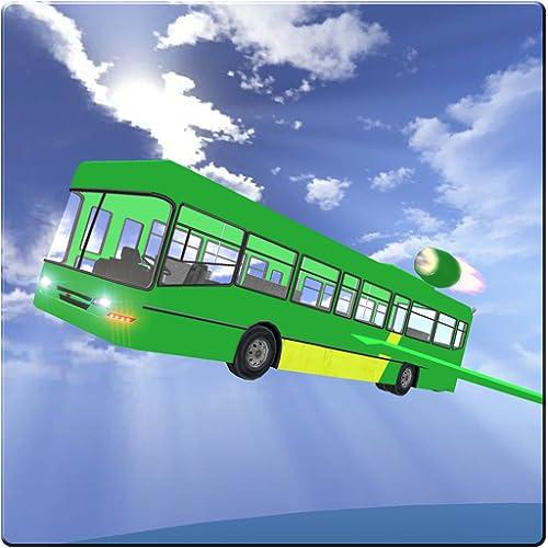 Futuristic Flying Bus Sim 3D