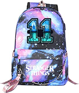 FGDJTYYJ Mochila Stranger Things Escolar, Stranger Things 3
