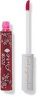 100% PURE Lip & Cheek Stain (Fruit Pigmented), Cherry, Long Lasting Lip Stain, Cheek Tint, Hydrating Lip Tint, All Day Lip Color (Semi-Sheer Berry Red Color) - 0.24 Fl Oz