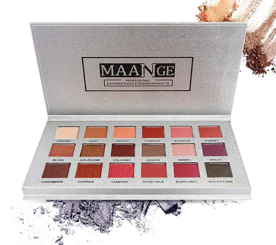 ペチュランス不正彼Ni Yom Thai shop 18 Color Shimmer Glitter Eye Shadow Powder Matt Eyeshadow Cosmetic Makeup brochas maquillaje profesional pinceaux maquillage