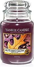 Yankee Candle Duftkerze im großen Jar, Autumn Glow, Brenndauer bis zu 150Stunden