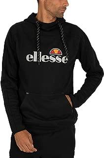 Ellesse Men's Barreti Pullover Hoodie, Black