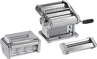 comprar comparacion Marcato PastaSet Máquina para Pasta Manual con Accesorios Incluido, Acero Cromado, Plata, 20 X 20.7 X 15.5 Cm