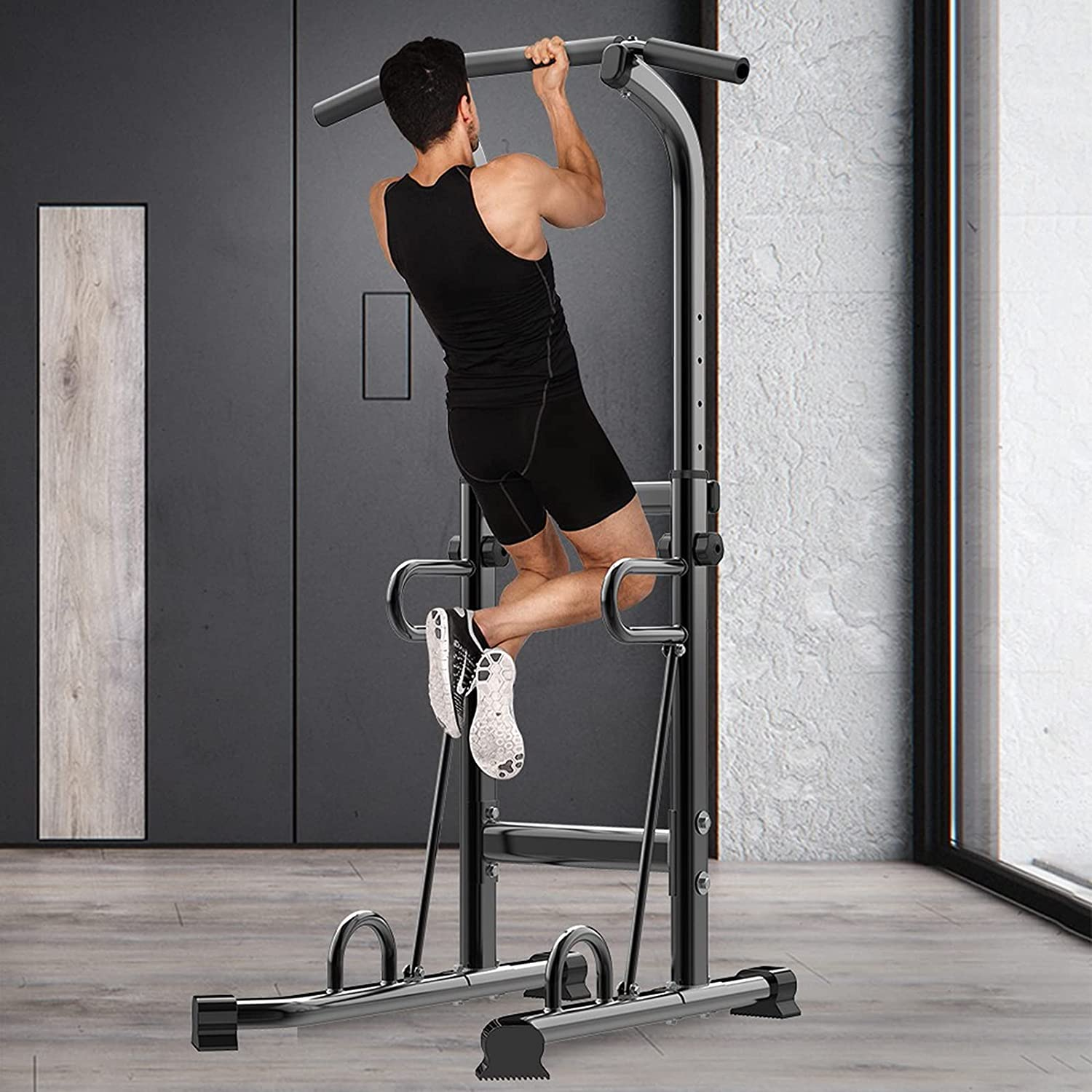 YYL Super Special SALE held Power Tower Workout Dip Station Denver Mall Gym Pull Home Strengt for Up