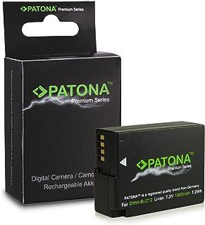 Premium Bateria DMW-BLC12E | DMW-BLC12PP para Panasonic Lumix DMC-FZ200 | DMC-FZ300 | DMC-FZ1000 | DMC-G5 | DMC-G6 | DMC-G70 | DMC-GH2 | DMC-GX8