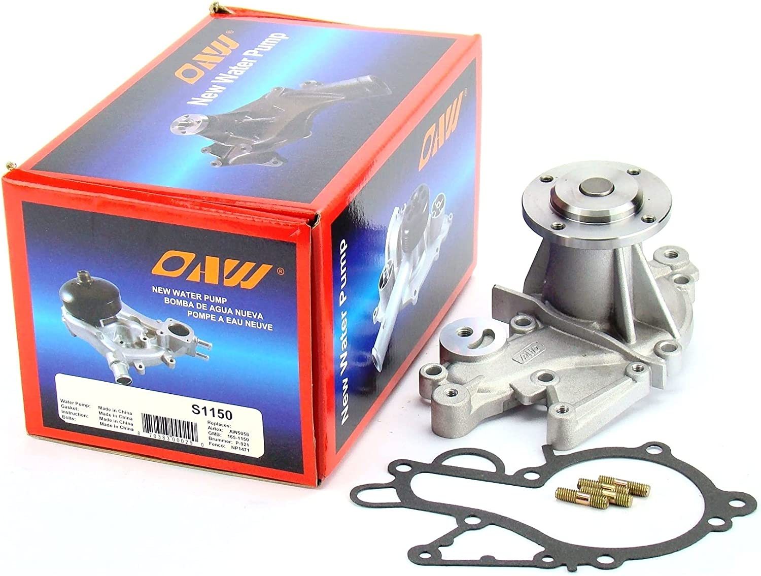 OAW Year-end annual account S1150 Engine Water Pump for Ranking TOP19 89-01 Pontia 89-00 Suzuki Swift