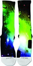EliteDesignzz Men's Rainbow Galaxy Sock