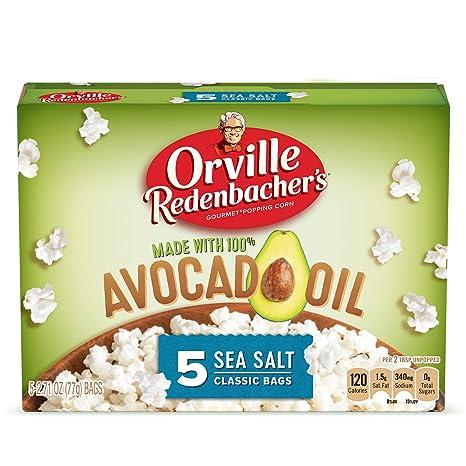 Orville Redenbachers Avocado Oil Microwave Popcorn