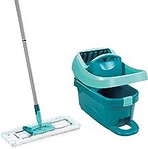 Leifheit Set wisserpers Profi XL met vloerwisser en rollen, reiniging met schone handen & zonder bukken, resultaten zoals ...