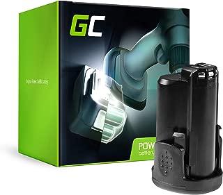 GC® (1.5Ah 10.8V Li-Ion Cells) PBA 12 Power4All 1600A00H3D 1600A0049P Replacement Battery Pack for Bosch PSR PSB PSM PMF PST PKS AHS Grün 10.8-12V Serie Power Tools