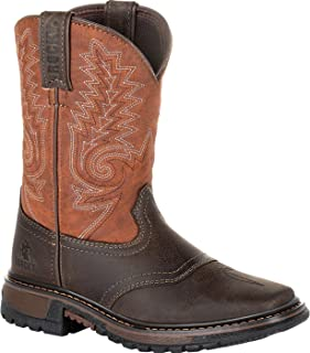 Rocky Big Kids' Ride FLX Western Boot