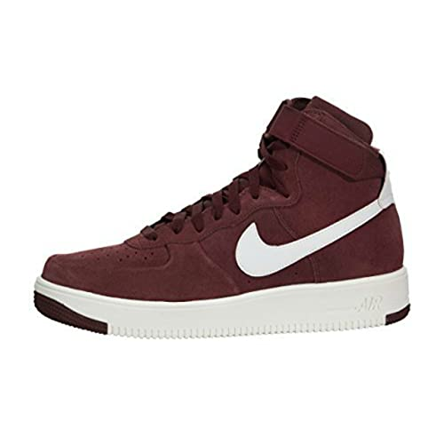 finest selection c5893 08a1c NIKE Air Force 1 Ultraforce High Men Dark Team Red Summit White 880854-600