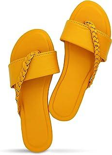 Sayera Women Stylish Trending Fancy Flat Fashion sandal