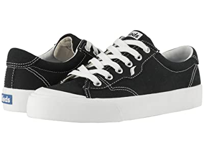 Keds Crew Kick 75 Canvas (Black Canvas) Women