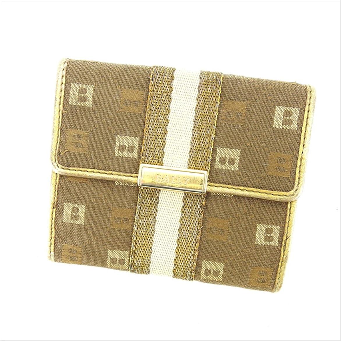 疑いブラザーそしてバリー BALLY Wホック財布 二つ折り財布 ユニセックス 中古 P423