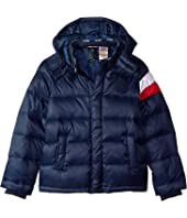 Down Puffer Jacket with Magnetic Buttons (Little Kids/Big Kids)