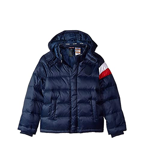 7f20c89e Tommy Hilfiger Adaptive Down Puffer Jacket with Magnetic Buttons ...