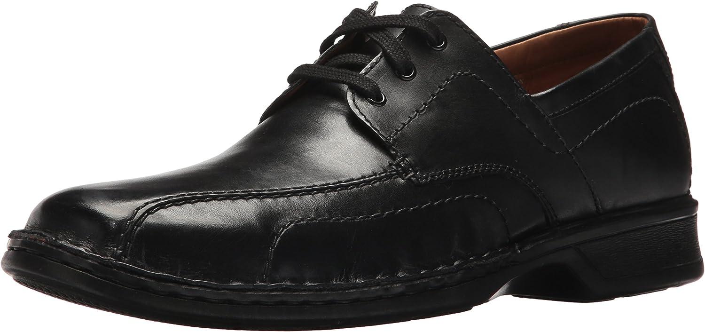 Clarks Men's northam Edge Loafer, schwarz Leather, 10.5 Medium US