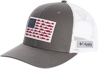 [コロンビア] メンズ 帽子 PFG Mesh Fish Flag Snap Back Trucker Hat [並行輸入品]