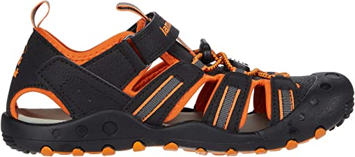 Black/Orange Charcoal