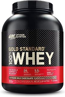 Optimal näring guld standard Whey Muskelbyggnad och återhämtning proteinpulver med glutamin och aminosyror, extrem mjölkch...
