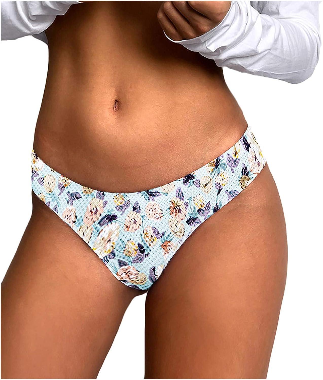 ZAKIO Women Lingerie Sport Thong Panties Low Waist Seamless Thong Breathable Soft Comfortable Underwear No Show Glued Briefs White