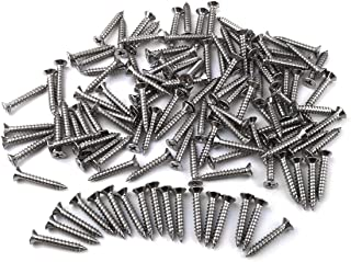 100 Qty #6 x 1-1//4 Oval Head 304 Stainless Phillips Head Wood Screws SNG622