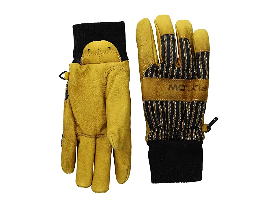 Flylow Tough Guy Gloves (Natural/Black) Ski Gloves