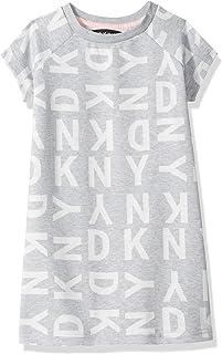 DKNY Girls' Logo T-Shirt Dress