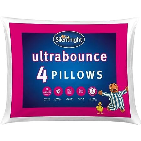 Silentnight Ultrabounce Pillow, Pack of 4