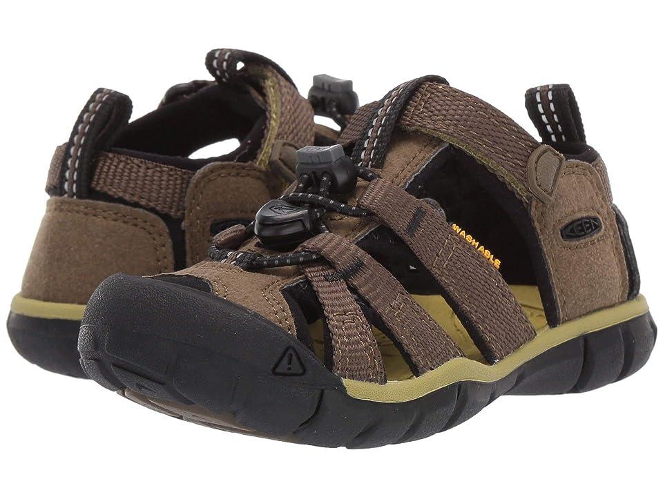Keen Kids Seacamp II CNX (Toddler/Little Kid) (Dark Olive/Black) Boys Shoes
